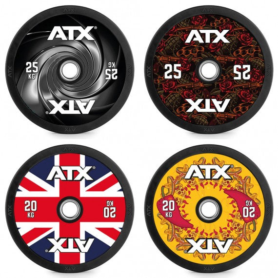 DYO - Design Your Own - Full Design Bumper Plates 5 bis 25 kg