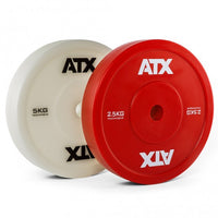 ATX® Weight Lifting Technique Plate / Technikhantelscheibe - farbig - 2,5 bis 5 Kg