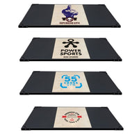 Weight Lifting Platform - Shock Absorption-System - Customer Logo