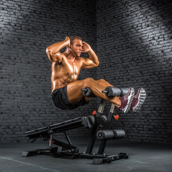 ATX® Torso Trainer - Multifunktionaler Bauch- / Rückentrainer - Roman Chair - Hyperextension