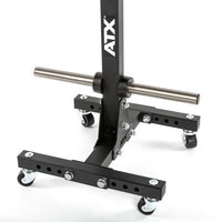 ATX® Weight Plate Tree - rollbarer Hantelscheibenständer Ø 50 mm - optional mit Transportrollen