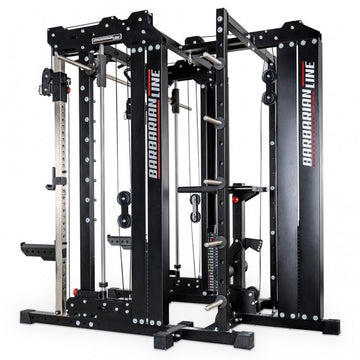 BARBARIAN LINE - SMITH CABLE RACK - KOMPLETTSET - STECKGEWICHTE