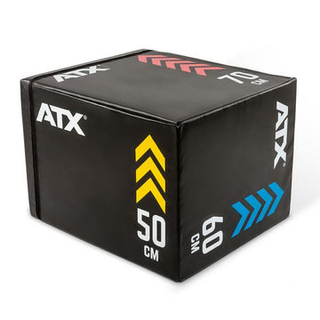 ATX® Soft Plyo-Box / Sprungbox 50 x 60 x 70 cm