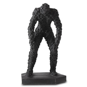 Fight Me Figurine Black