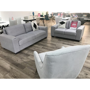 DIESEL 2 + 3 Seater Fabric Lounge - Marco Furniture