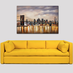 New York Bridge View - paintingsonline.com.au
