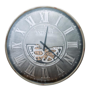 Extra Large Moving Cogs  Wall Clock 103cm - Marco Furniture