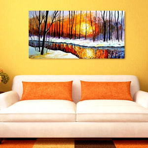 snow-fire-trees-landscape-art-1