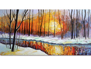 snow-fire-trees-landscape-art-2