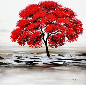 red-tree-floral-art-1