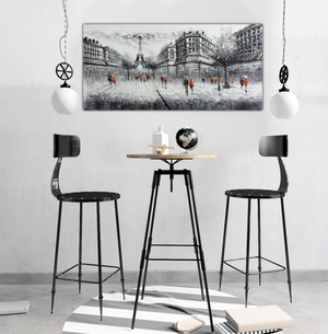Clouded Gray Eiffel - Marco Furniture