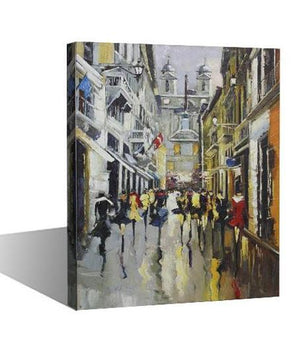 Hidden Street Of Secrets - paintingsonline.com.au