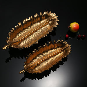 Gold Lotus Leaf Live Decor