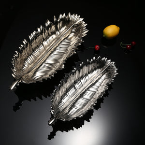 Silver Lotus Leaf Live Decor