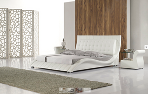 Maria Leather Bed