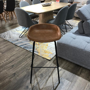 Solo Bar Stool Brown