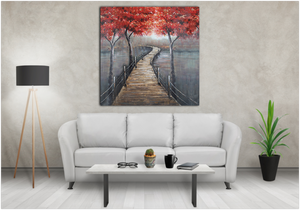 foggy-road-red-leaves-canvas-painting-16