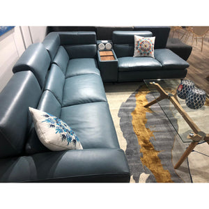 Zara Modern Leather Lounge