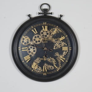 round-roman-numeral-moving-cogs-wall-clock-50cm-2