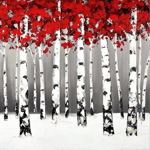 red-trees-in-snow-canvas-painting-1