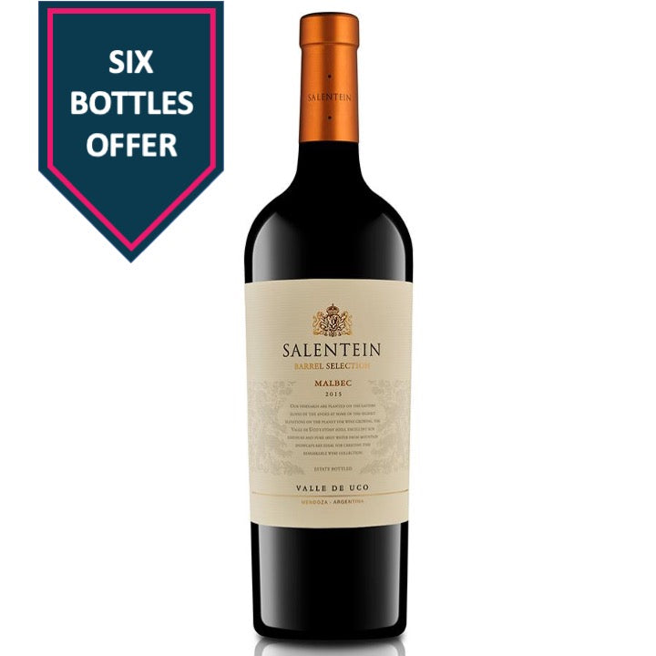 Bodegas Salentein Barrel Selection Malbec 2018 (6x)