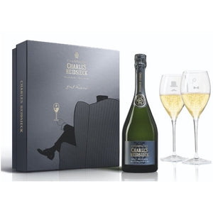 Charles Heidsieck - The Armchair Set (with giftbox)