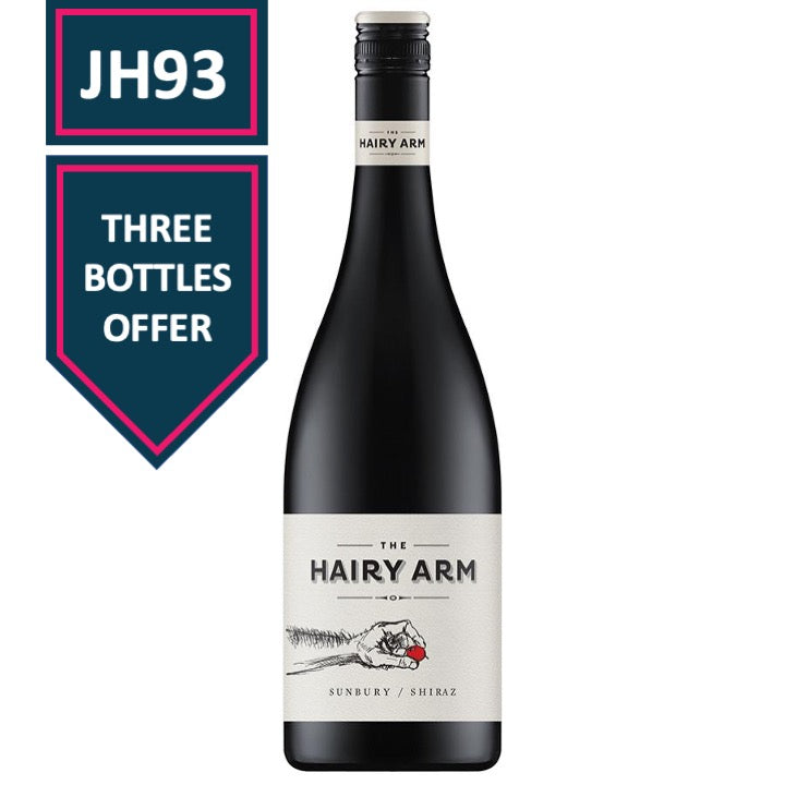 The Hairy Arm Sunbury Shiraz 2015 (x3)