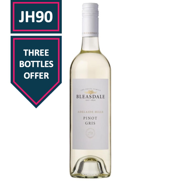 Bleasdale Adelaide Hills Pinot Gris 2018 (x3)
