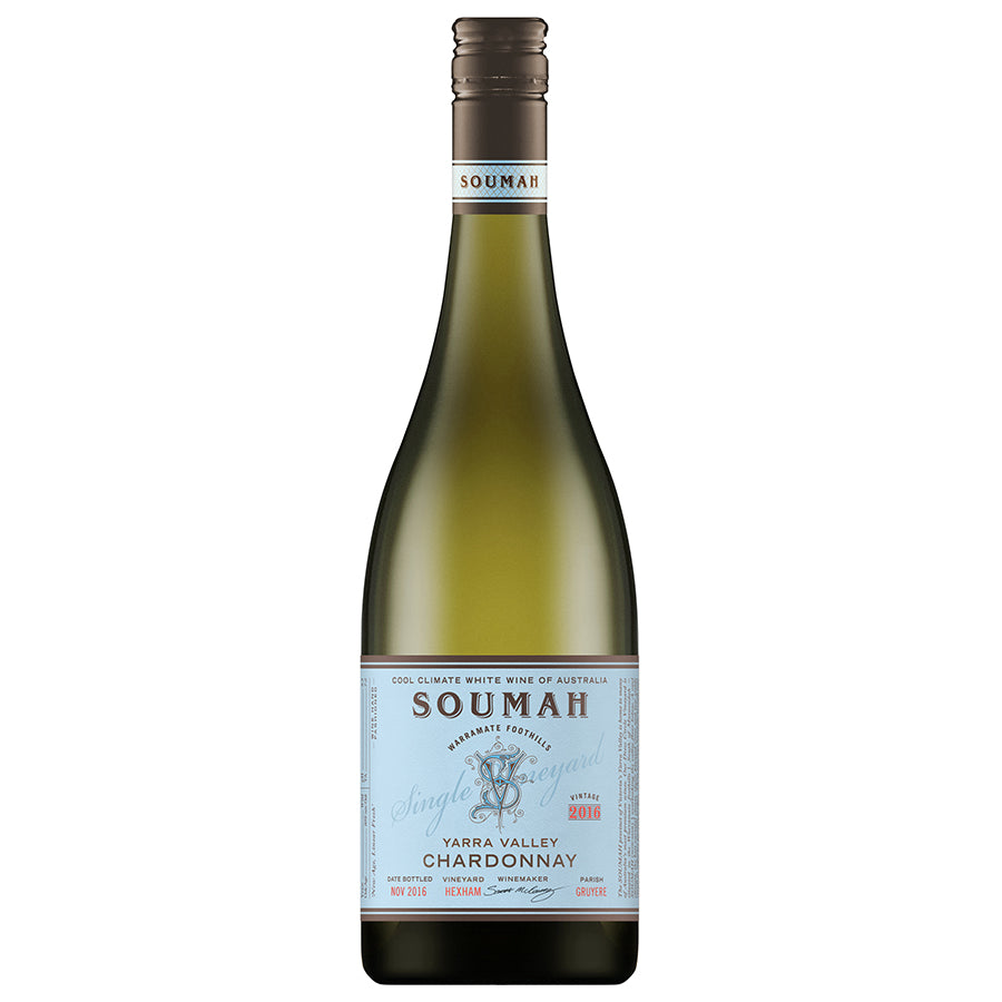 Soumah Single Vineyard Hexham Chardonnay 2019