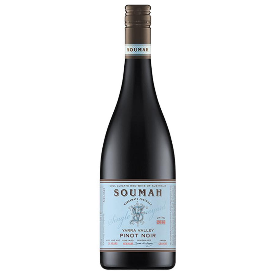 Soumah Single Vineyard Hexham Pinot Noir 2017
