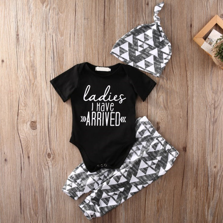 LADIES I HAVE ARRIVED OUTFIT (3PC SET)