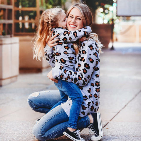Image of Leann Leopard Sweater (Mommy + Me)