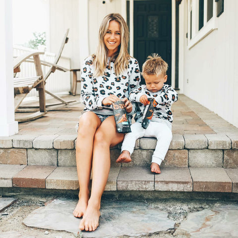 Leann Leopard Sweater (Mommy + Me)
