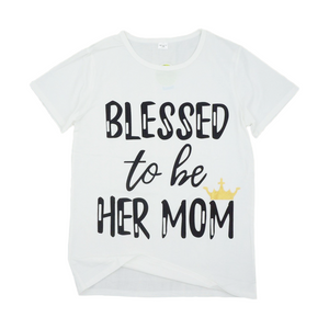 MOMMY + ME BLESSED TEE
