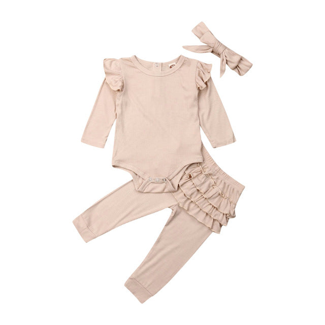 Rianne Ruffle Outfit (3-piece)