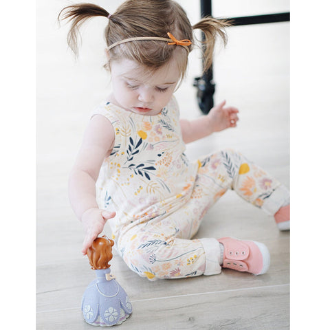 Image of SUMMER FLOWER ROMPER - Elsa Bella Baby