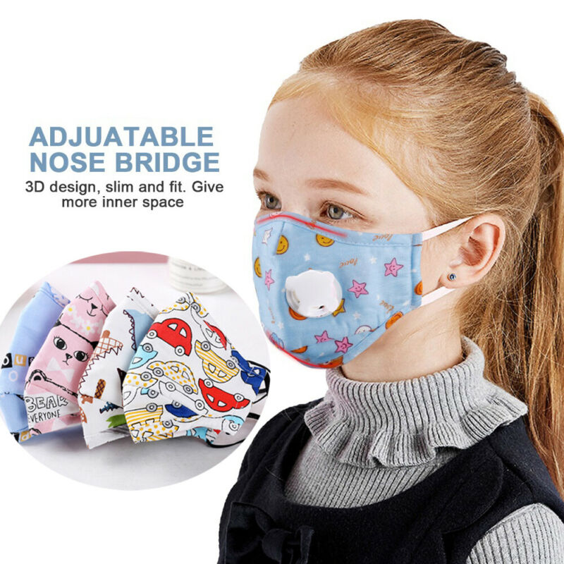 Austen PM2.5 Masks for Kids - Washable (1 Mask and 2 Filters)