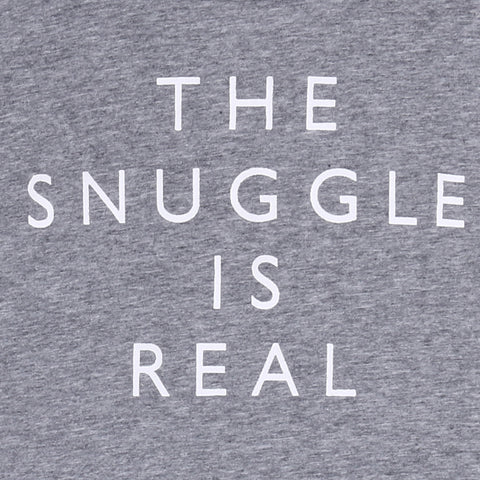THE SNUGGLE IS REAL T-SHIRT - Elsa Bella Baby
