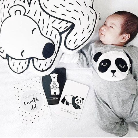 Image of PEYTON PANDA SLEEVELESS ROMPER