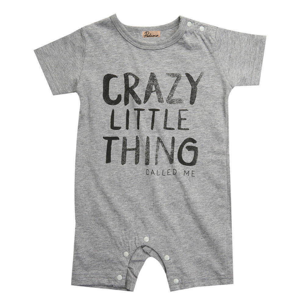 CRAZY LITTLE THING ROMPER - Elsa Bella Baby
