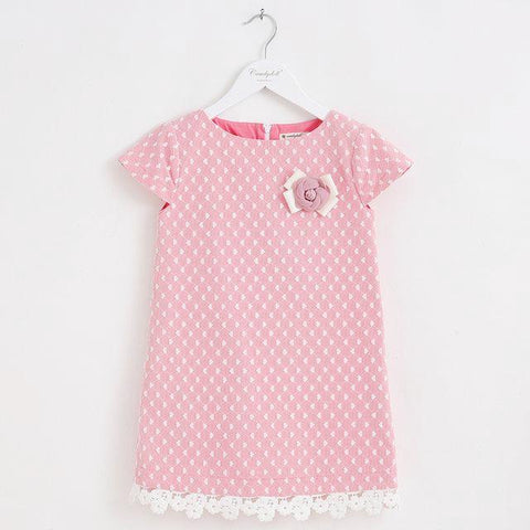 Image of THE PALM SPRINGS PINK DRESS - Elsa Bella Baby
