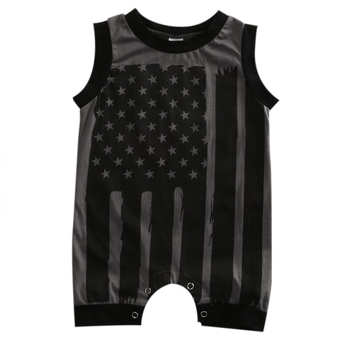 ALL-AMERICAN ROMPER (MORE COLORS) - Elsa Bella Baby