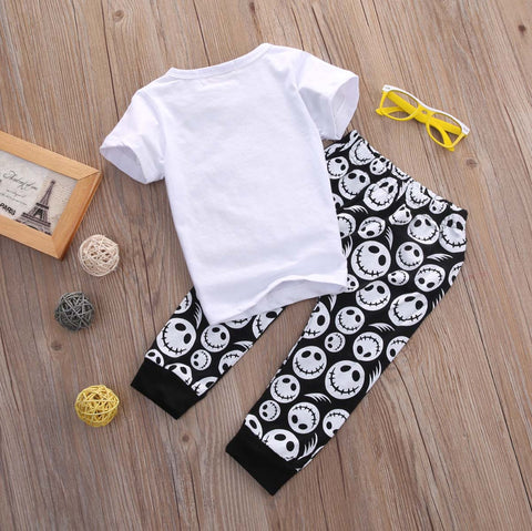 Image of NIGHTMARE BEFORE NAP TIME OUTFIT (2PC SET)