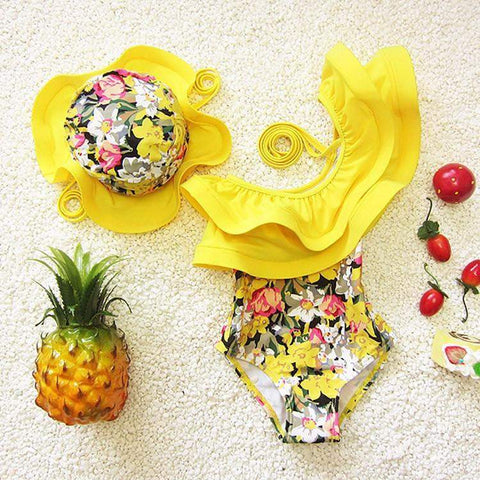 PALM BEACH LUNCH SWIMSUIT (2PC SET)