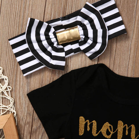 Image of MOMMY IS MY BESTIE OUTFIT (3PC SET)
