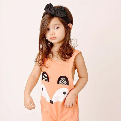 Image of FOX GIRLS OVERALLS - Elsa Bella Baby