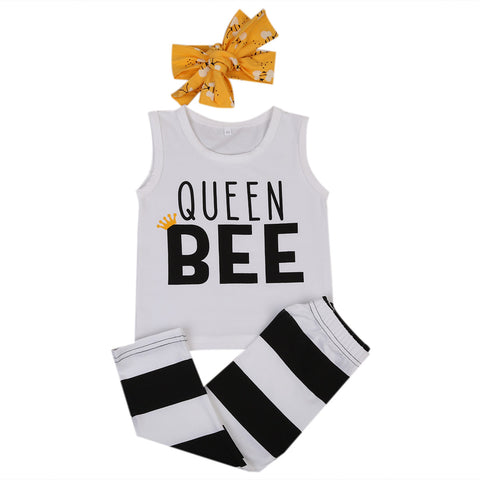Image of QUEEN BEE OUTFIT (3PC SET)