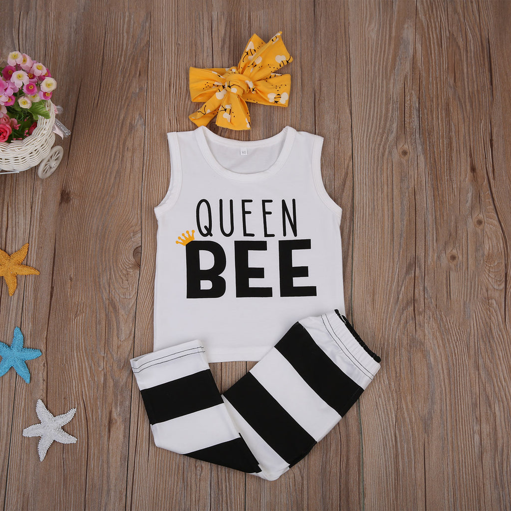QUEEN BEE OUTFIT (3PC SET)
