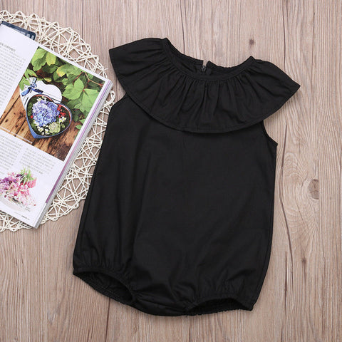 Image of MY LADY RUFFLE ROMPER
