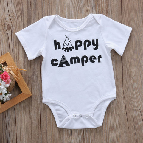 Image of HAPPY CAMPER ROMPER (TWO DESIGNS) - Elsa Bella Baby
